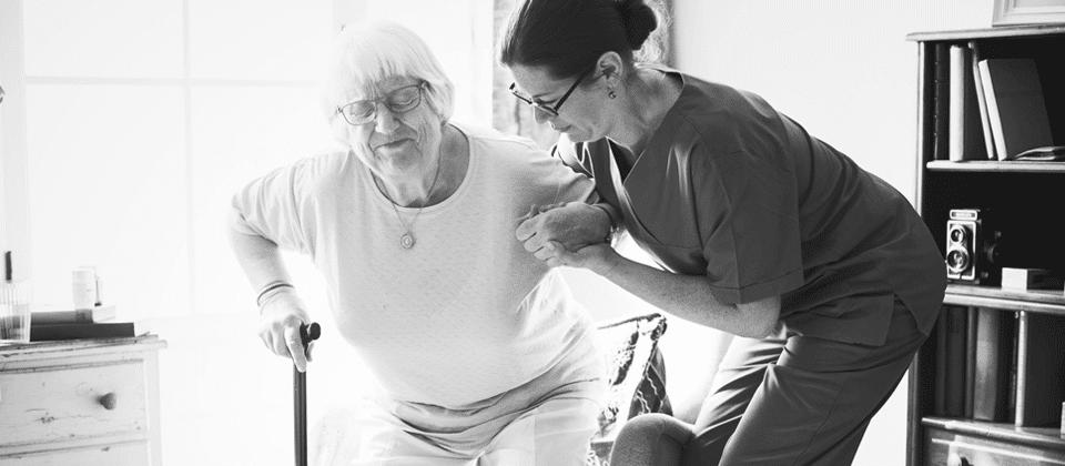 cuidadores de idosos em domicílio