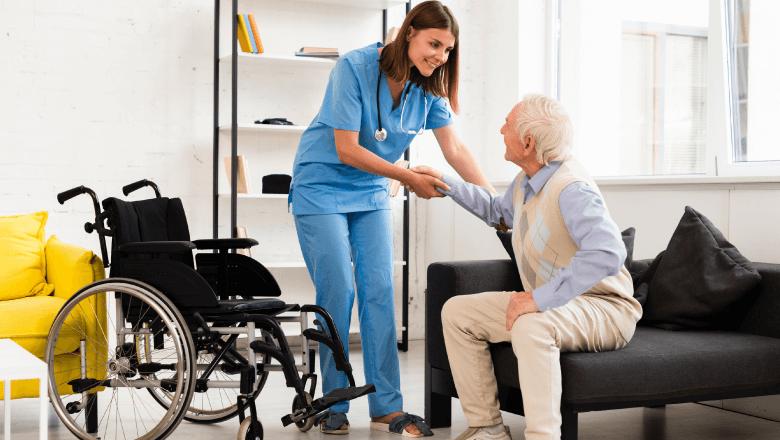 Atribuições do cuidador de idosos