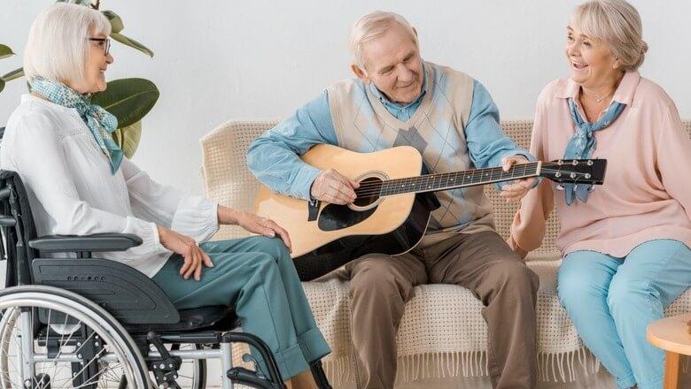 Musicoterapia para idosos