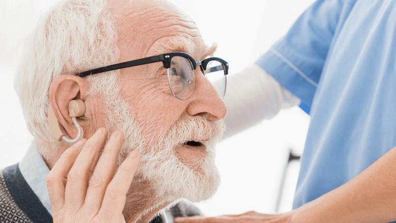 Perda de audição em idosos